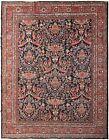 10X13 Antique Mahal Rug Sultanabad Rug Handmade Circa1920 Rug 312cm x 401cm