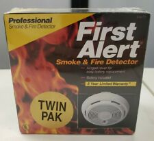 First Alert SA67D Smoke Detector 2 Pack Brand New Sealed Vintage Model 83R 1990
