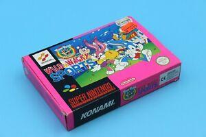Super Nintendo SNES - Tiny Toon Adventures: Wild & Wacky Sports - in OVP