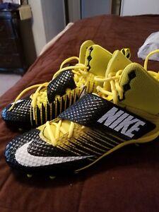 Men's Nike Lunarbeast Strike Pro TD Yellow Size:14