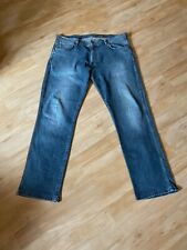 WRANGLER Jeans Greensboro, RegularFit, Gr: 38/32 Baumwoll-Stretch, Gebr.