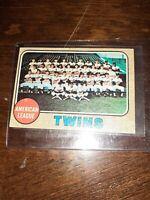 1968 Topps MINNESOTA TWINS VINTAGE BASEBALL CARD #137