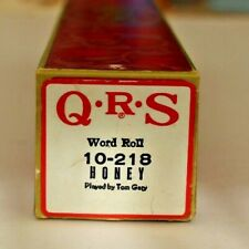 More details for qrs pianola word roll: honey