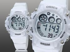 OHSEN Fashion Gril Digital LED Display Women Sport Wrist watch (more color)