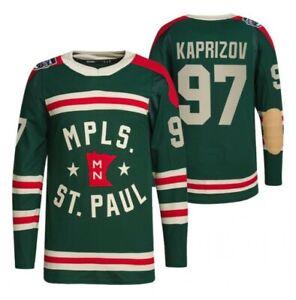 97 Kirill kaprizov 2022 Winter Classic Jersey Minnesota Wild