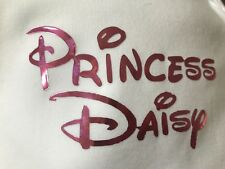 Personalised newborn girls Disney Princess Baby Grow Suit 0-3 6-12 12-18 months