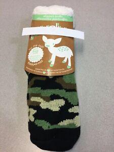 Camo Slipper Socks Acrylic/Polyester 2302-WP-546