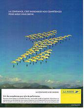 PUBLICITE ADVERTISING 015  2004  LA POSTE  confiance  et avenir 5