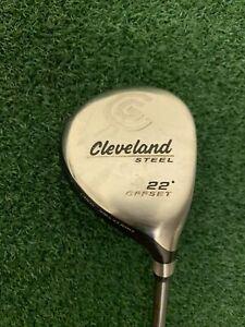 Cleveland Steel Offset RH Fairway Wood 22* Senior Flex Graphite