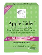 New Nordic Apple Cider Mega - one a day (30 Tablets) (Pack of 6)
