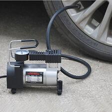Portable Car Use 12V  Mini Inflator Pump Heavy Duty Air Compressor Tire Inflator