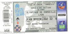 Billet  / Place  OM Olympique de Marseille - OM vs Lyon  ( 055 )