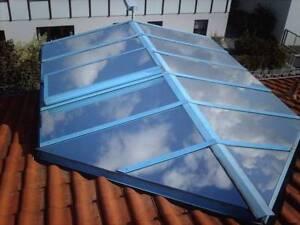 Sichtschutzfolie Dachfensterfolie SOL-DA silber dunkel