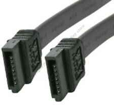 "Lot50 19.6""/20""Serial ATA/SATA internal HD/CD/DVD/DVDRW Cable/Cord 150mbs{BLACK"