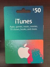 $50 iTunes gift card  Apple    *Fast Free Delivery* New attached to envelope