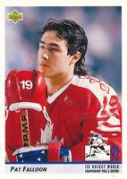 Pat Falloon 1992-93 Upper Deck #386 San Jose Sharks hockey Card