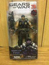 "Gears of War 3 ""Marcus Fenix"" w/Retro Lancer (New) 30+ Points of Articulation"