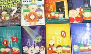 South Park Season Boxsets (DVD Region 1 and Region 2) + Team America Orgazmo etc