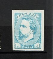 Spain SC# X1, Mint Hinged, small Hinge Remnants, minor toning - S6933