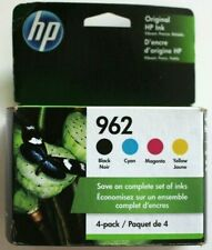 HP 962 Black & Color 4-Pack Ink Printer Cartridges - EXP 2022