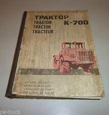 Catalogue des Pièces / de Détachées / List Kirowez K-700 Tracteur