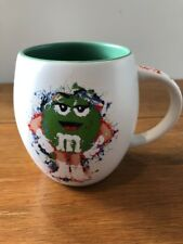 Official M&M's World Large Ms.Green Barrel Mug