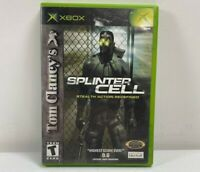 Tom Clancy's Splinter Cell (Microsoft Xbox) Black Label Complete Tested Works