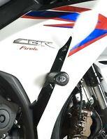 R&G Black Crash Protectors Aero Style Non Drill Honda CBR1000RR Fireblade 2013