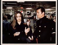 JAMES BOND THE SPY WHO LOVED ME ROGER MOORE & SEXY BARBARA BACH 8X10