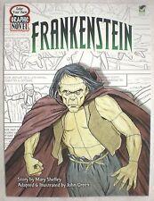 Dover FRANKENSTEIN Graphic Novel Adult Coloring Book John Green Fine 2010