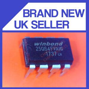 WINBOND 25Q64FVAIG DIP8 IC CHIP GENUINE / UK SELLER FAST POST