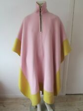 New $3800 Emilio Pucci Oversized Angora-Wool Kaftan Cape Cloak