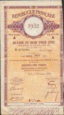 Dette Publique 1932 (P)