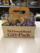 Mc Donald's Gift-Pack With 6 Glasses 1977