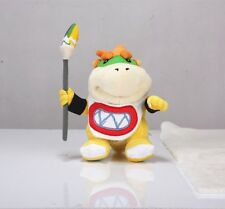 """New Super Mario Bros. 7"""" Koopa Jr. Bowser with Pen Stuffed Plush Toy Doll"""