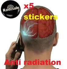 x5 EMF Protection Quantum Scalar Anti Radiation  Phone Mobile Sticker RADISAFE