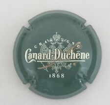 capsule champagne CANARD DUCHENE petit sabre grand 1868 n°61 vert bouteille