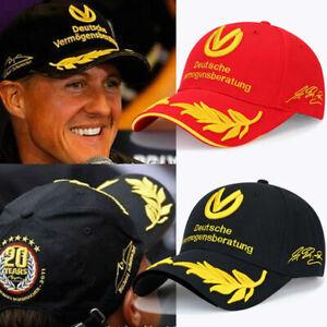 F1 Motor Racing Embroidery Baseball Cap Motorcycle Signed Snapback Sun Visor Hat