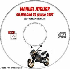 DNA 50 ed07 Manuel Atelier CDROM GILERA FR Expédition - 3 euros, Support - CD-R