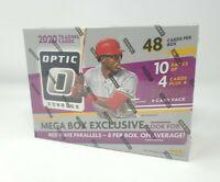 New 2020 Donruss Optic Baseball Mega Box 1 Auto Avg Panini 48 Trading Cards