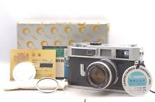 @ Ship in 24 Hrs! @ Original Box Set! @ Canon 7 Film Camera + 50mm f1.8 Lens