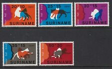 Suriname 1978 Child Welfare Set, Kittens, UM