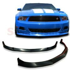 Made for 2010-2012 Ford Mustang V6 ONLY STL Street Front PU Bumper add-on Lip