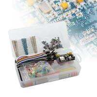 Electronic Component Starter Wires Breadboard LED Buzzer Resistor Transistor Kit