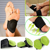 1 Pair Foot Support Cushion Shock Absorber Arch Feet Care Instep Pad Pain Relief