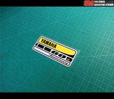 Small YAMAHA 60th Anniversary Motobike decal Reflective sticker_100 mm x 40 mm