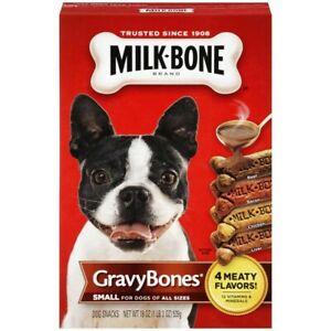 Milk-Bone GravyBones Small Bones for Dogs of all Sizes 19oz
