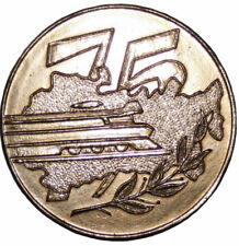 A411) Sowjetunion Medaille UdSSR 75 Fachschule Eisenbahntransports Nikolaev 1894