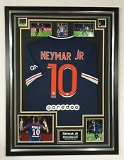 PSG Neymar Jr Signed photo with Shirt Autographed Jersey Display **
