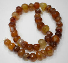 Beads Carnelian Assorted Chinese Round Beads 10mm - 14mm